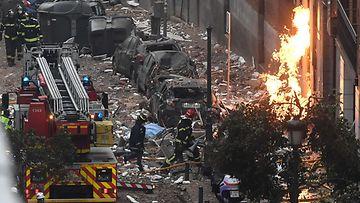 LK 210121 Madrid räjähdys espanja