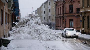aop sundsvall lumi paljon lunta