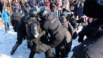 AOP Venäjä Navalnyi tukiprotestit 4