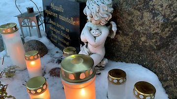 Virrat perhetragedia kynttilät