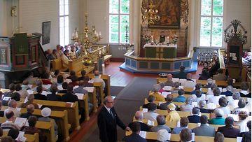 Muhoksen kirkko LK