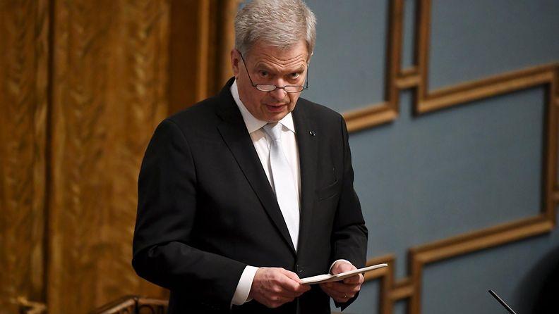 LK Sauli Niinistö 3.2.2021