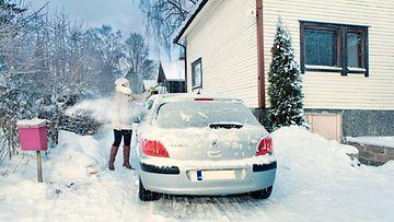 liikenneturva talviautoilu pakkanen