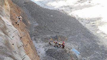 Intia pelastusoperaatio afp