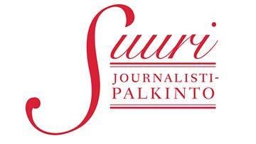Suuri Journalistipalkinto uusi logo