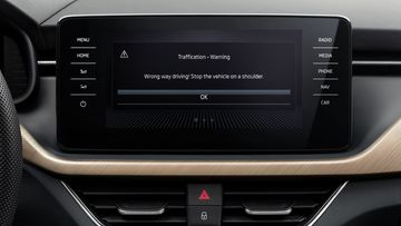 skoda traffication infotainment app