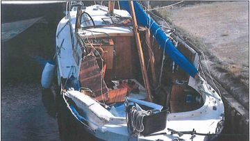 Airiston veneturma veneen vauriot