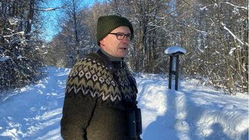 Jan Södersved, tiedottaja, BirdLife Suomi