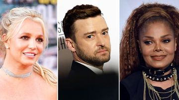 Britney Spears Justin Timberlake Janet Jackson