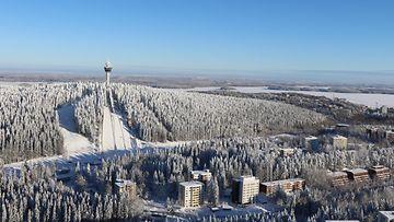 Kuumailmapallolla Kuopion yli (3)