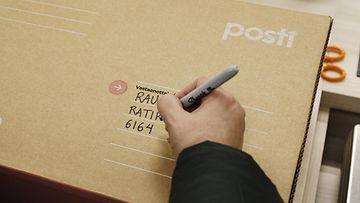 LK 270221 posti paketti lähetys