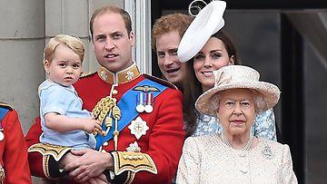 William, Harry, kuningatar Elisabet