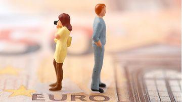 AOP raha talous riita kuvituskuva