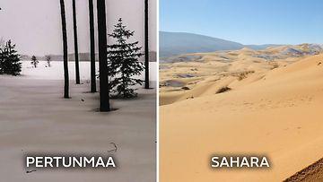 Mitä ihmettä? Suomen on peittänyt tuhansien kilometrien päästä leijaillut Saharan hiekka (1)