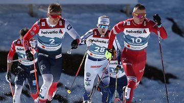 Oskar Svensson sprintti
