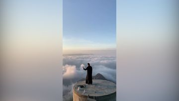 Reuters: Aamuinen maisema Saudi-Arabiassa