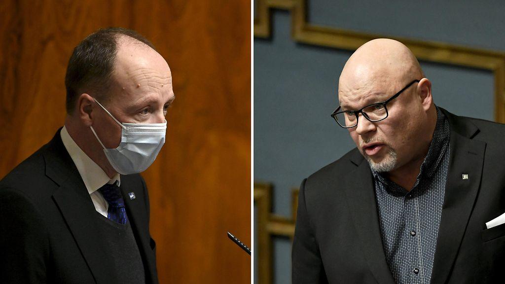 Jussi Halla-Aho Elisa Siekkinen