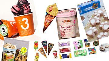 jäätelöt