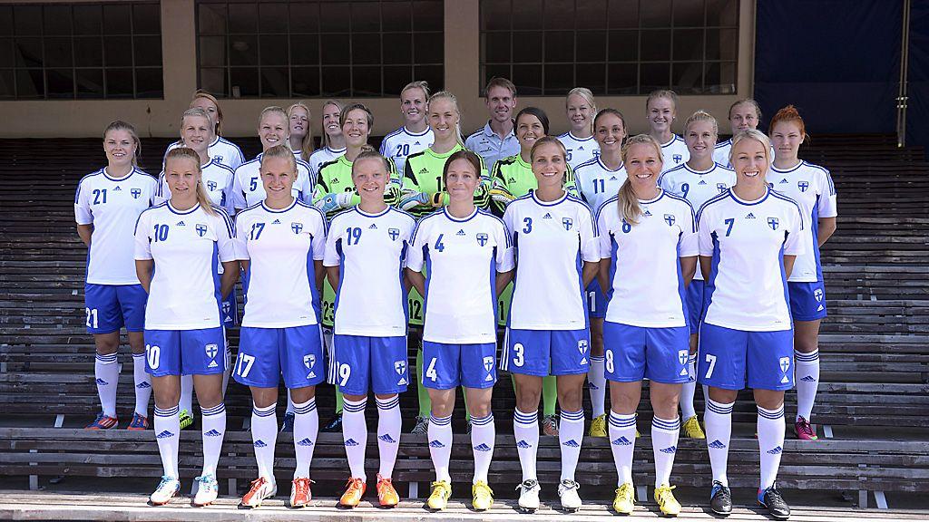Naisten Em Jalkapallo