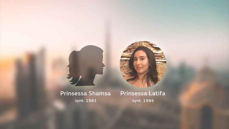 Latifa ja prinsessa Shamsa
