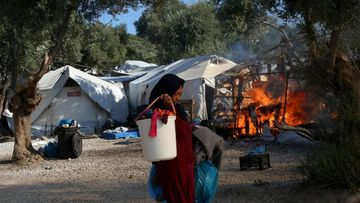 AOP Moria pakolaisleiri