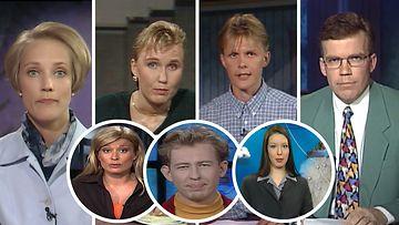 Tällaisia olivat MTV Uutisten suosikkikasvojen ensimmäiset lähetykset