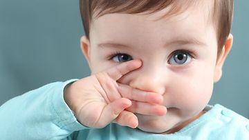 Shutterstock lapsi, nenä