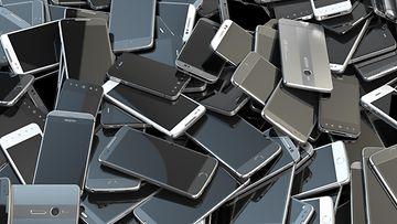 shutterstock älypuhelimia puhelimia kännyköitä kännykät