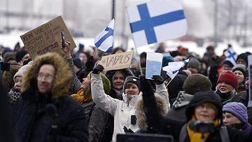 Lehtikuva-Mielenosoitukset
