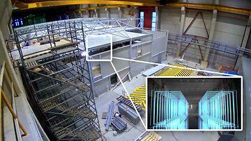 Making of LUMI data center