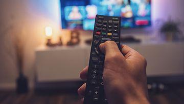 shutterstock televisio netflix kaukosäädin