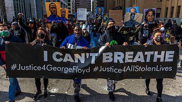 LK 29.3.2021 George Floyd mielenosoitus