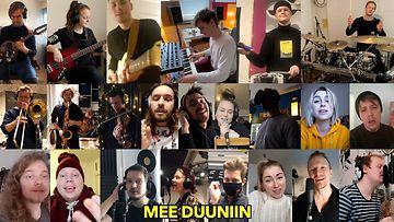 310321-NETTI-KUVA-Muusikot ottavat kantaa negatiiviseen keskusteluun kulttuurialasta – kokosivat yhdessä humoristisen videon, jolla on myös syvempi tarkoitus