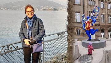 Pirkko Siivola on matkustanut ulkomailla au pair -mummona.