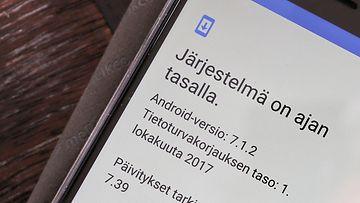 AOP Android päivitys