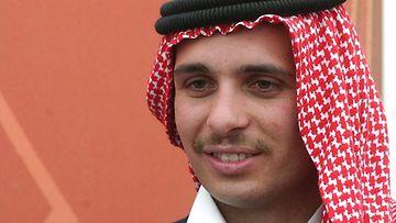 Jordanian entinen kruununprinssi Hamzah. / AOP