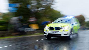 shutterstock poliisi uk iso-britannia poliisiauto