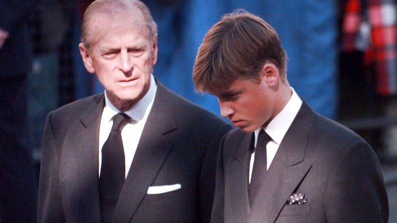 Prinssi Philip ja prinssi William 1997