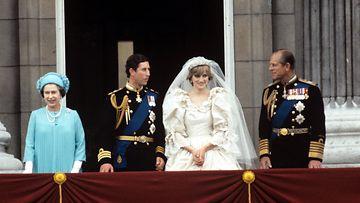 AOP Charles ja Diana häät