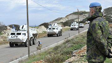 Libanon rauhanturvaajat LK PUOLUSTUSVOIMAT