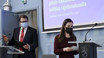 Mika Salminen Sanna Marin LK