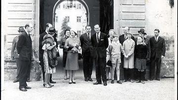 Prinssi Philip ja kuningatar Elisabet Saksassa 1965
