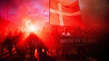 Men in black Tanska Lehtikuva