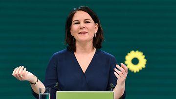 LK 19.4.2021 Saksan vihreä puolue on nimennyt puheenjohtajansa Annalena Baerbockin liittokansleriehdokkaakseen.