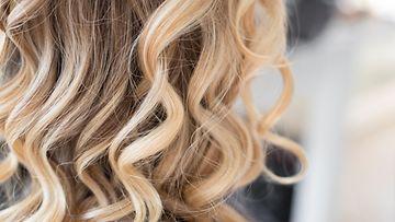 balayage, kampaus, hiukset