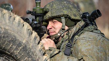 Venäjä sotilas AOP