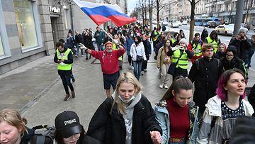 Venäjä Navalnyi mielenosoitus LK