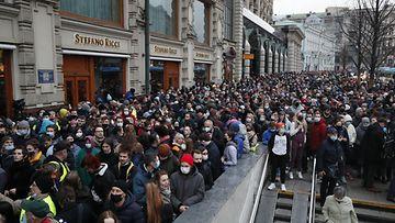 AOP Venäjä mielenosoitus