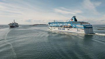 AOP ruotsinlaivoja Tallink Silja 2018