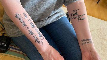 Elina tatuoinnit